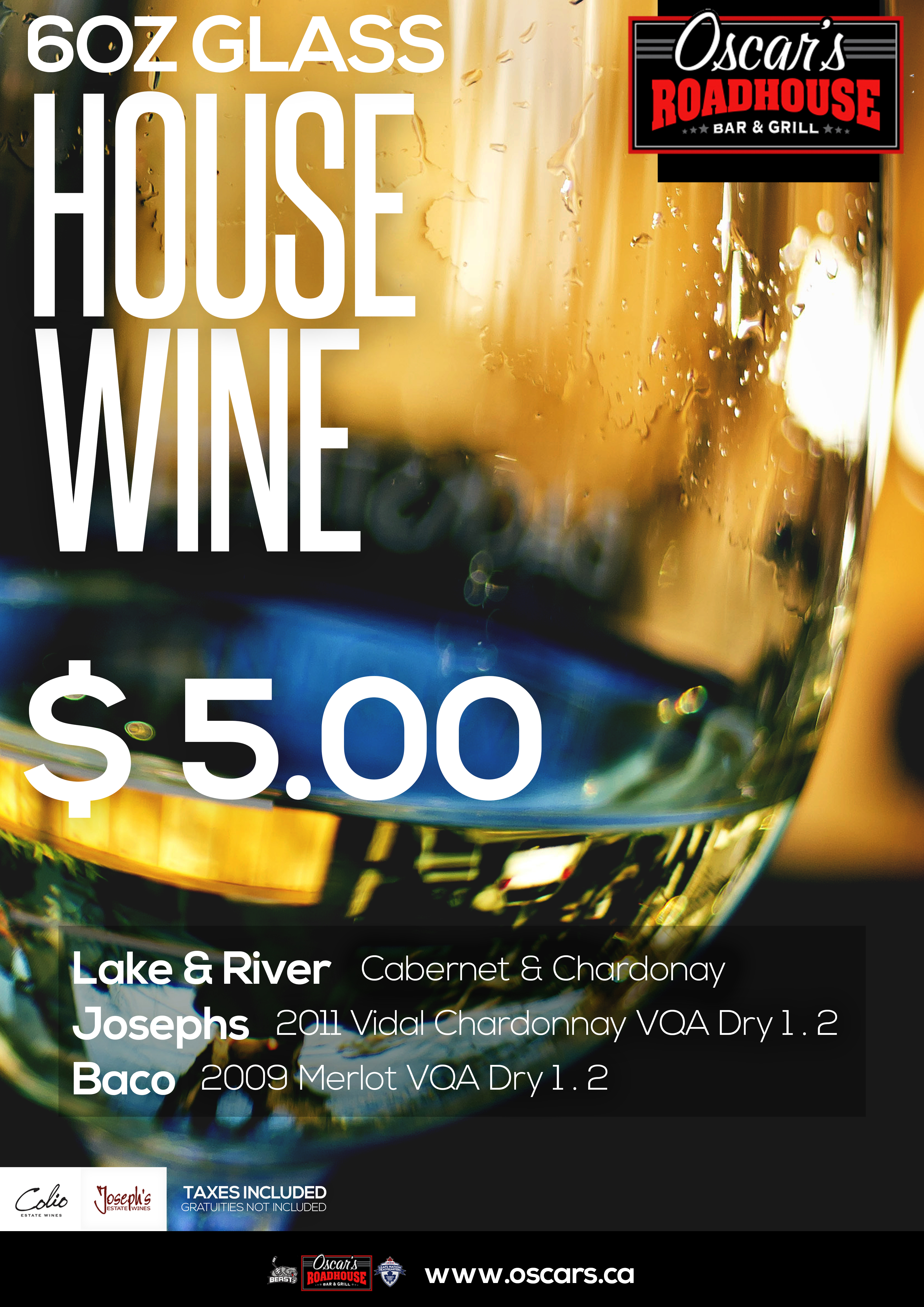 Daily Wine Bar Specials