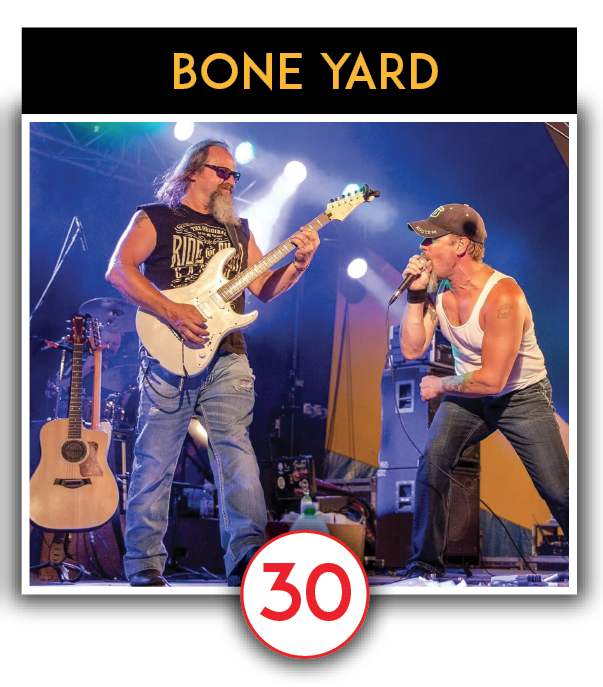 LIVE MUSIC - Bone Yard